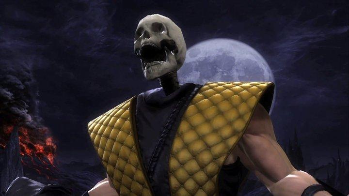 Mortal kombat scorpion unmasked